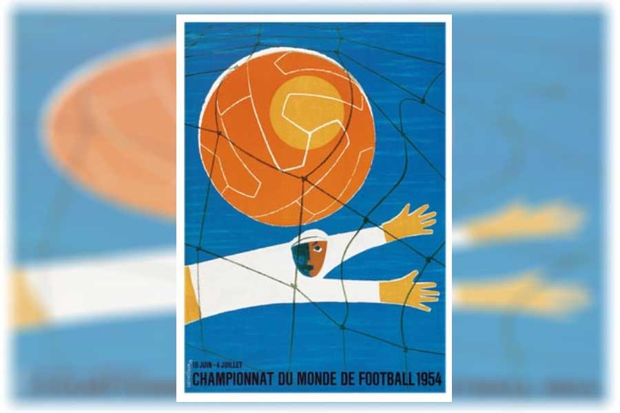 FIFA 1954 Dünya Kupası posteri