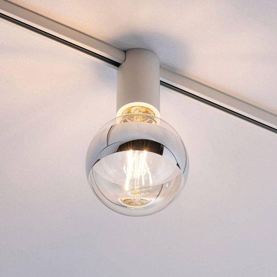 Paulmann URail Ceiling Socket E27, valkoinen