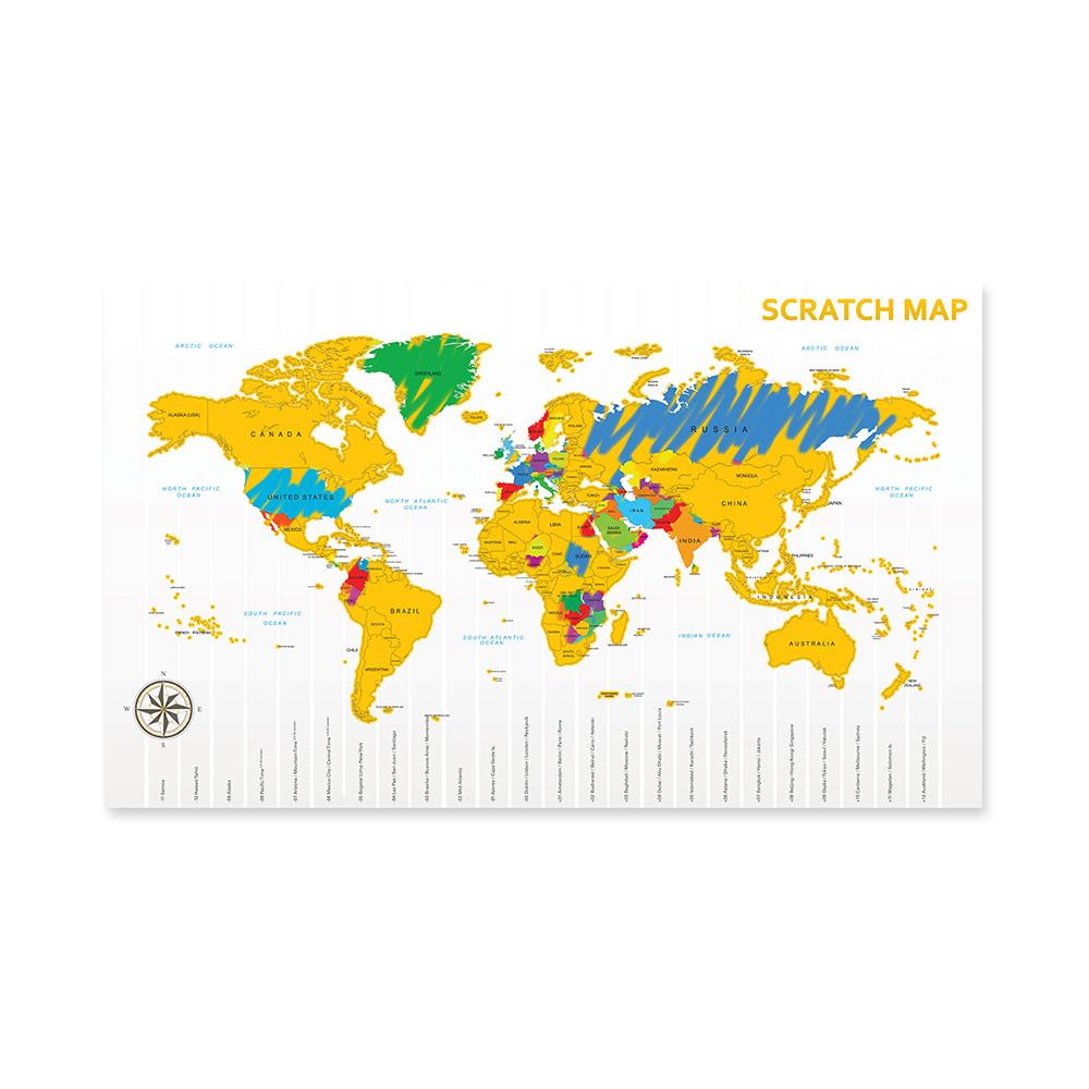 Scratch Map (03500)