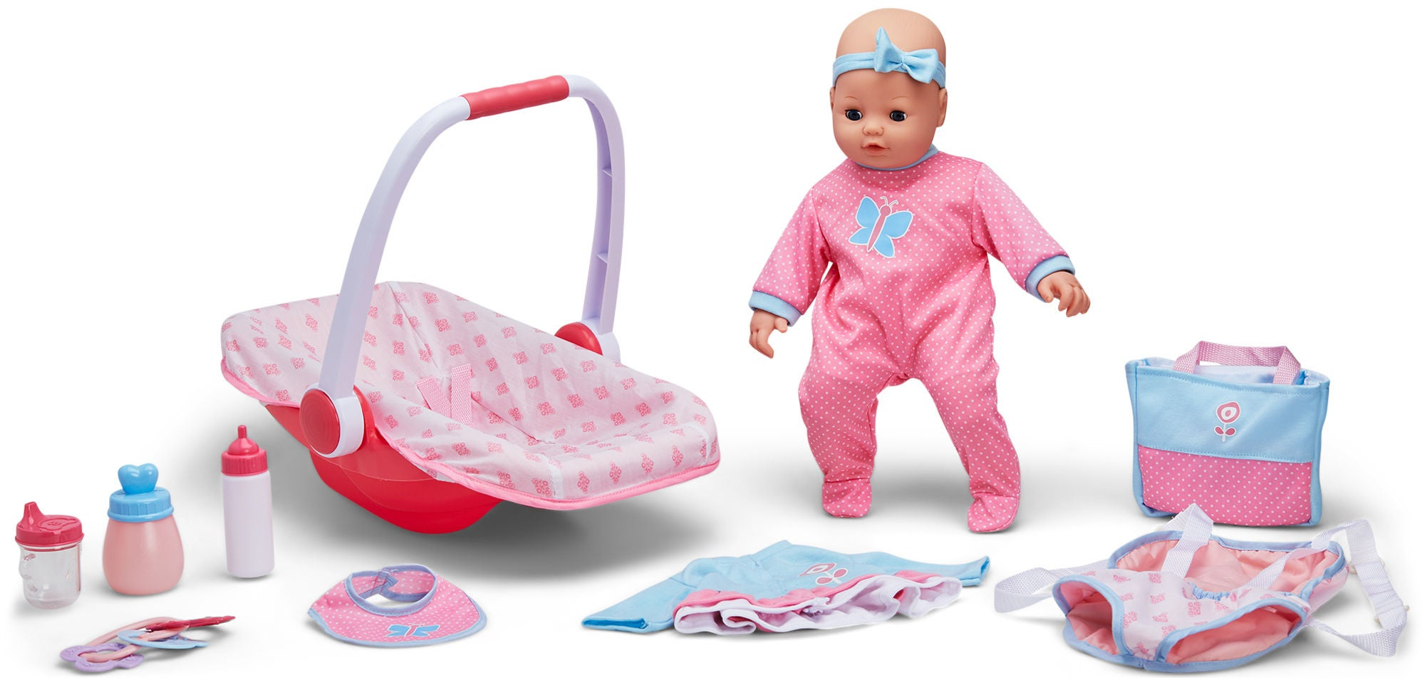 Cloudberry Castle Vauvanukke Elise + Nukentarvikkeet
