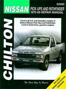 Haynes Reparationshandbok, Nissan Pick-ups & Pathfinder, Universal