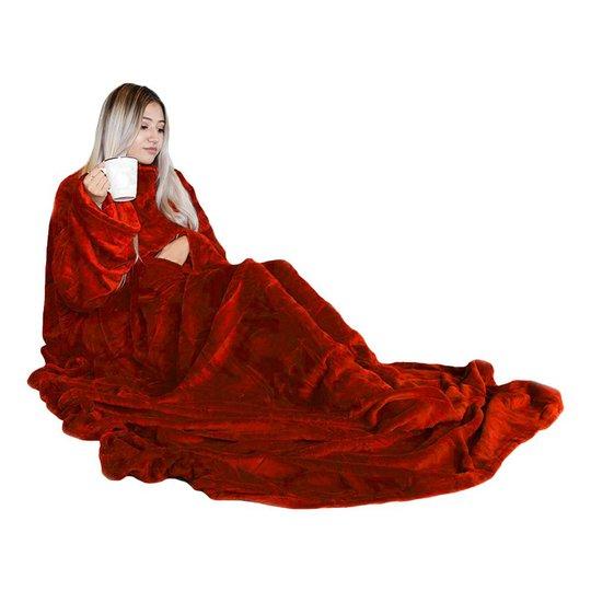 Snugs Deluxe Fleecefilt - Röd