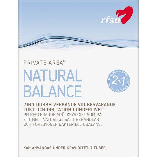 Natural Balance, RFSU Intiimihygienia
