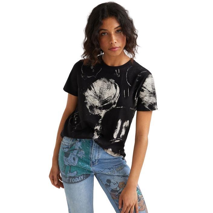 Desigual Women's Shirt Black 320065 - black XS