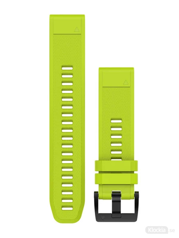 Garmin QuickFit 22mm - Klockarmband, Gul Silikon