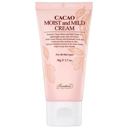 Cacao Moist and Mild Cream, 50 ml Benton K-Beauty