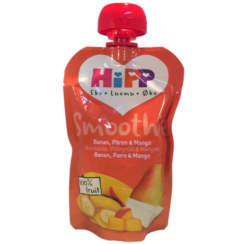 Hipp Smoothie Banan, Päron, Mango - 20% rabatt