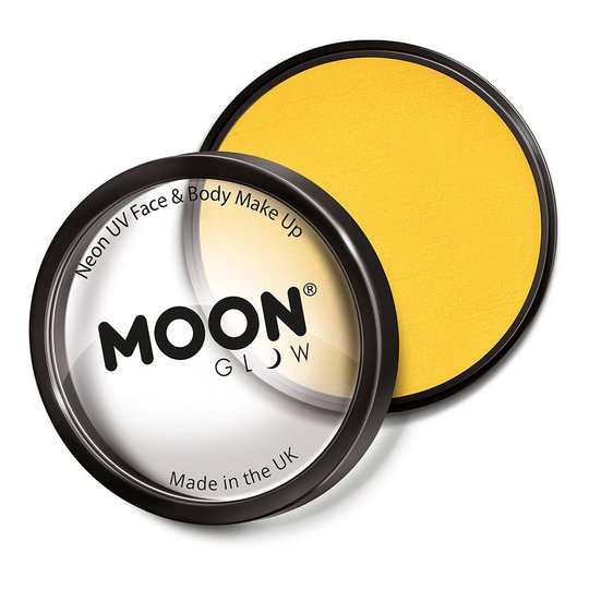 Moon Creations Pro UV Neon Ansikts- & Kroppsfärg - Gul