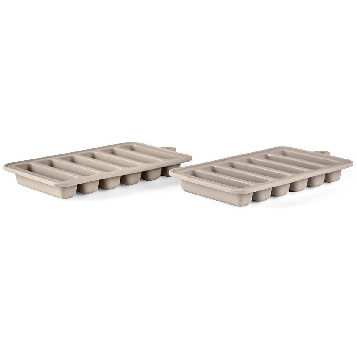 Bitz - Icecube Tray 16 x 9,5 x 2 cm - Grey (11619)