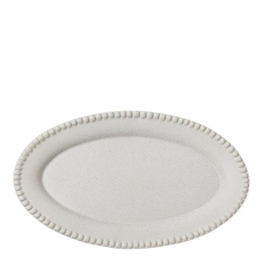 PotteryJo - Daria Fat Oval 35 cm Cotton White