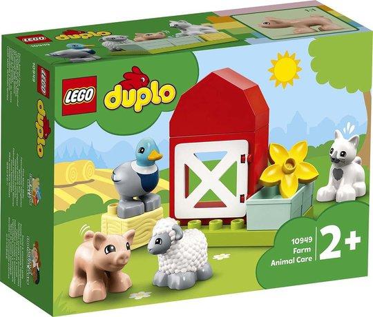 LEGO DUPLO Town 10949 Dyra på bondegården
