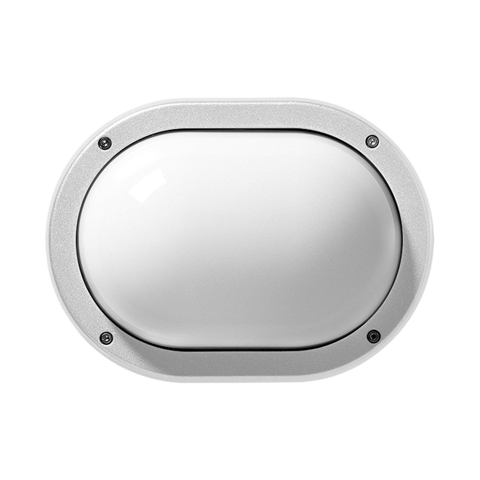Utendørs LED-vegglampe Eko+19 LED 3 000 K, hvit