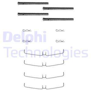 Tarvikesarja, jarrupala DELPHI LX0004