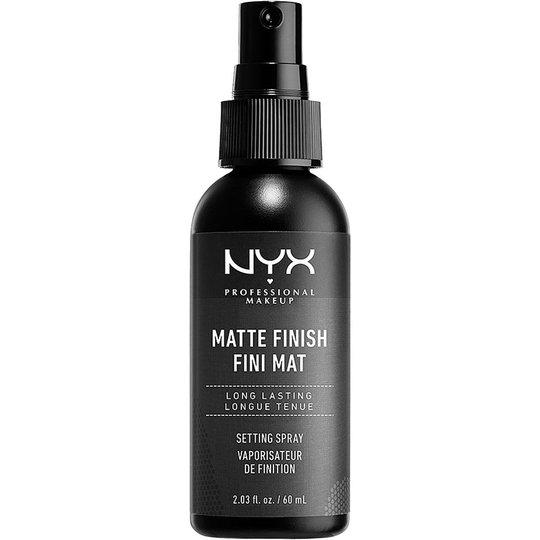 Matte Finish Setting Spray, 60 ml NYX Professional Makeup Kiinnityssuihke