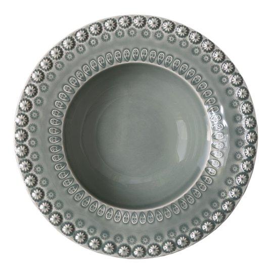 PotteryJo - Daisy Sopptallrik 21 cm Cement