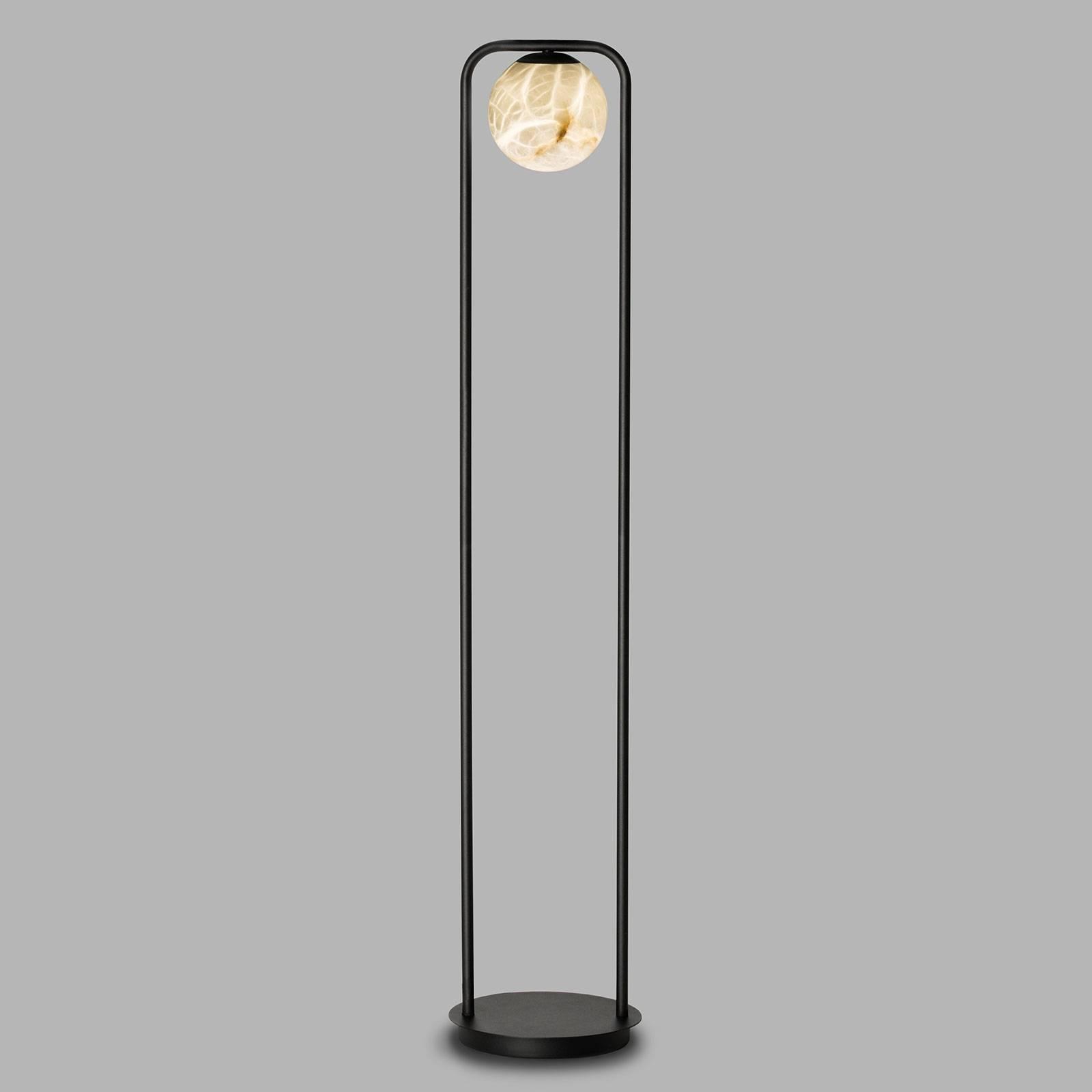LED-lattiavalo Tribeca, alabasteria, 1-lamppuinen