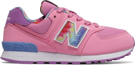 New Balance 574 Sneaker, Candy Pink, 35