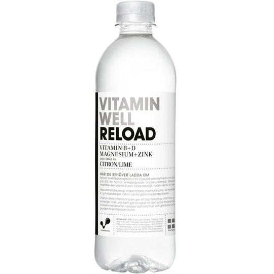 Vitamin Well Citron & Lime 500ml - 50% rabatt