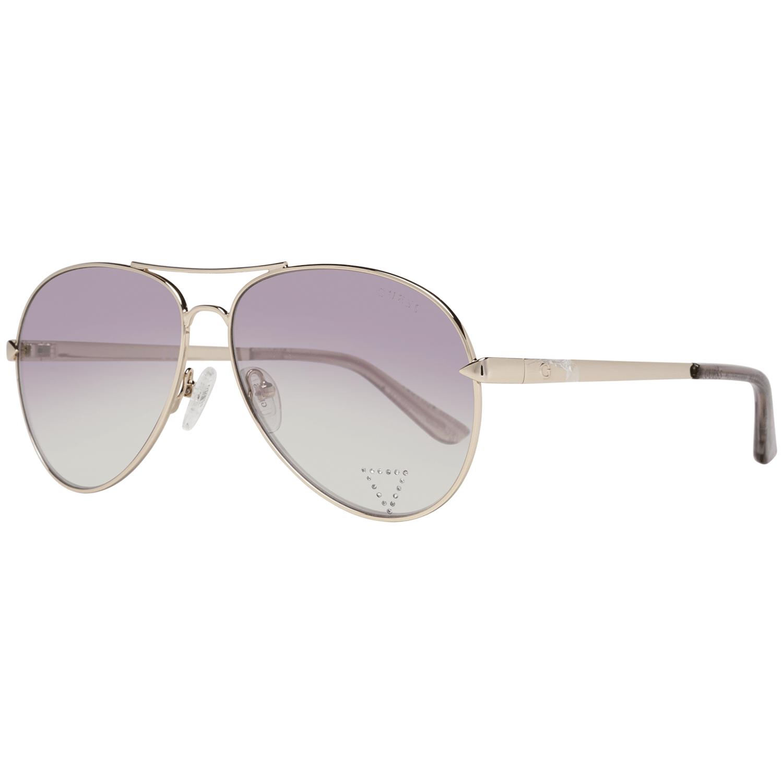 Guess Unisex Sunglasses Gold GU7616-S 5832Z