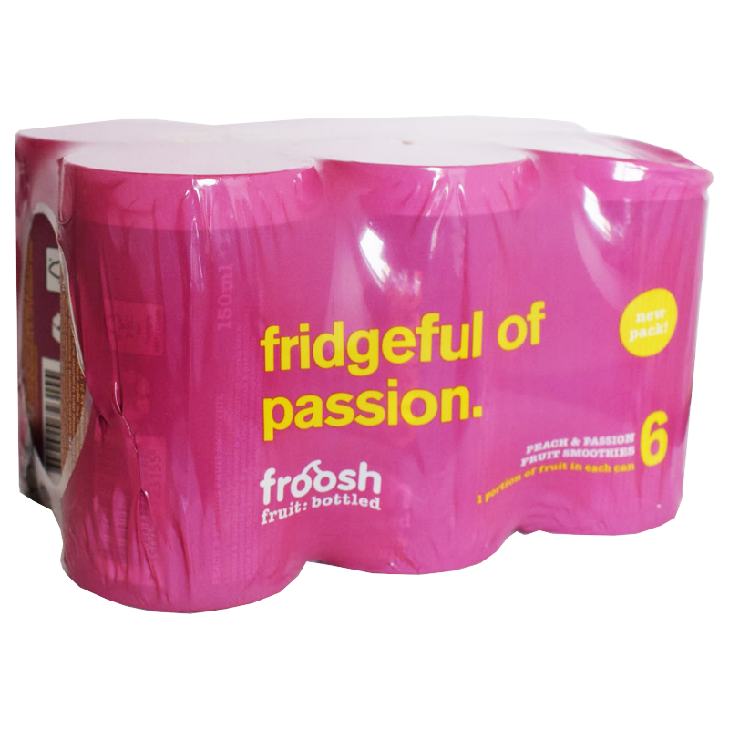 Smoothie Persika & Passionsfrukt 6-pack - 21% rabatt