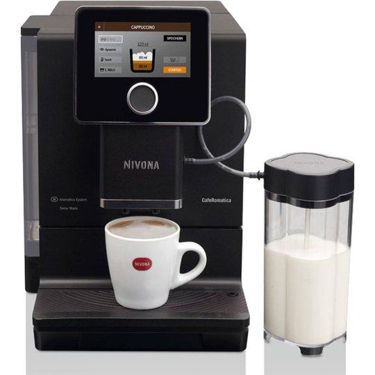 "Nivona Kaffemaskin Svart matt 5"""" touch display NICR 960"""
