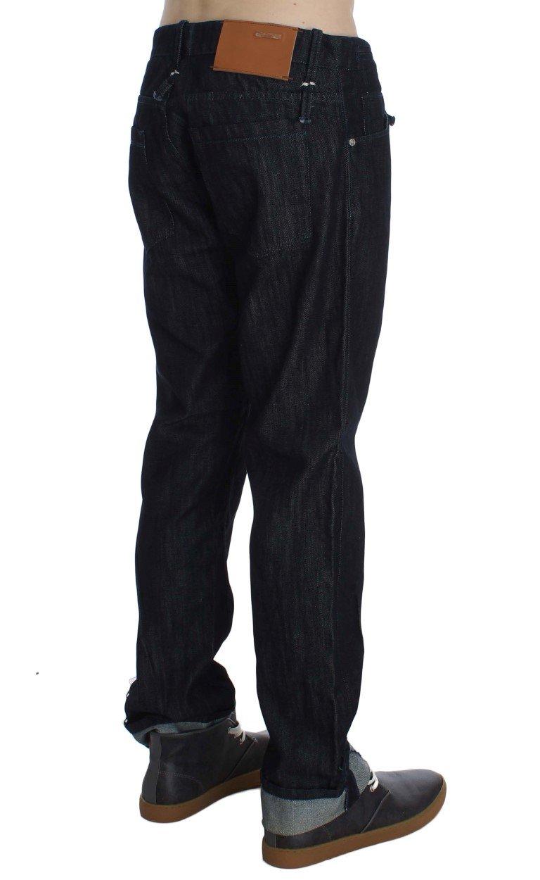 Acht Men's Cotton Regular Straight Fit Jeans Blue SIG30481 - W34