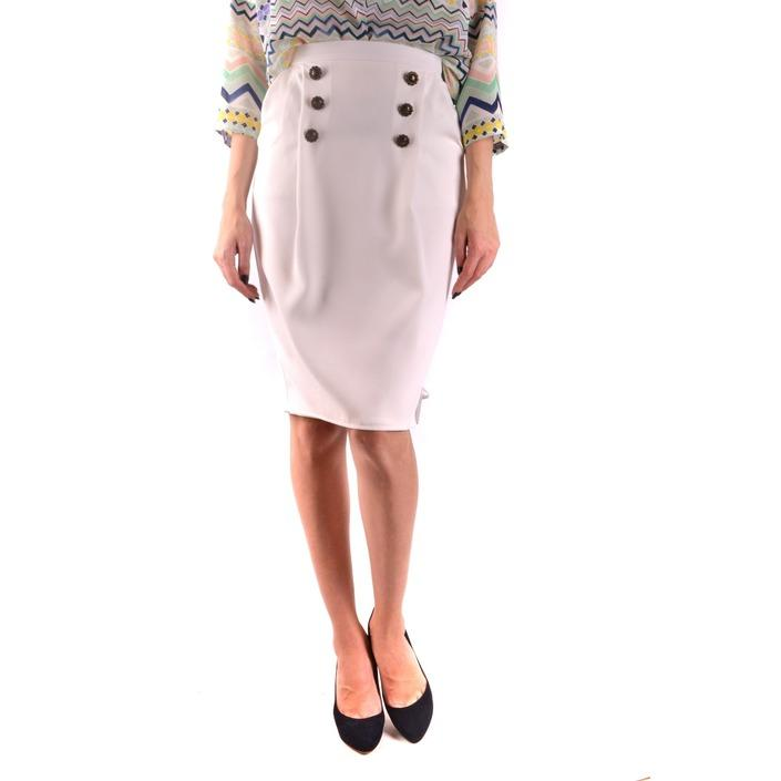 Elisabetta Franchi Women's Skirt White 164415 - white 38