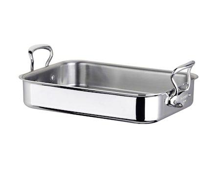 Cook Style Ovnspanne 30x20cm blank stål