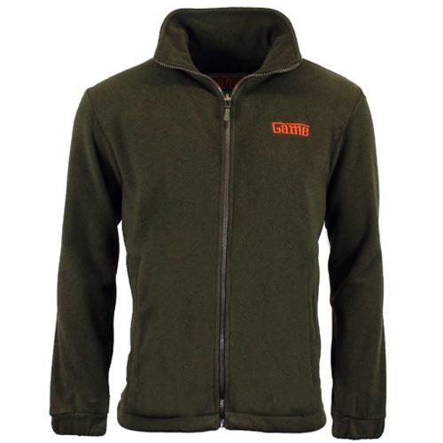 Game Technical Apparel Unisex Jacket Various Colours Stealth Fleece - Green 2XL