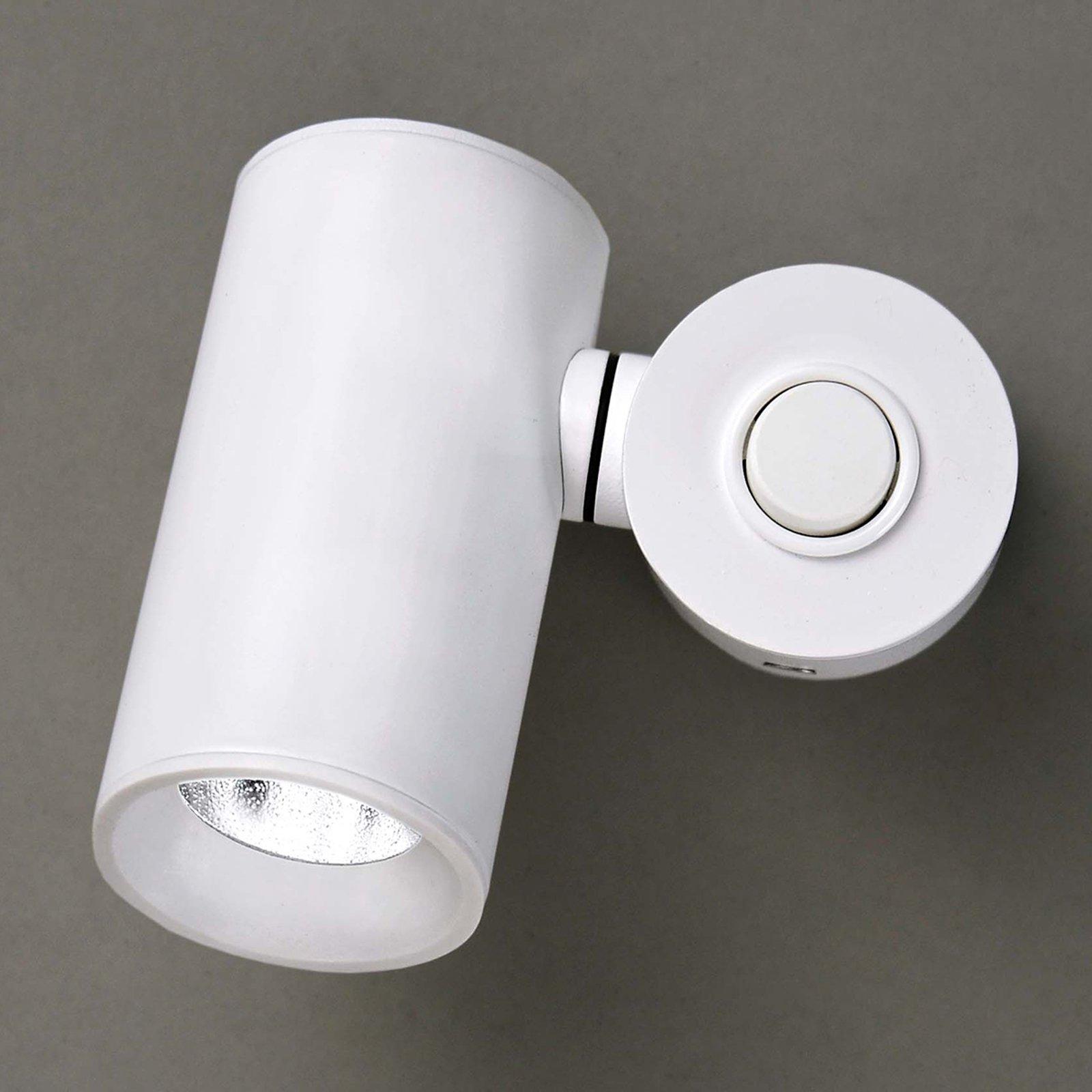 Milan Tub – justerbar LED-vegglampe, hvit