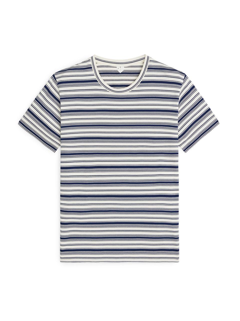 Striped T-Shirt - White