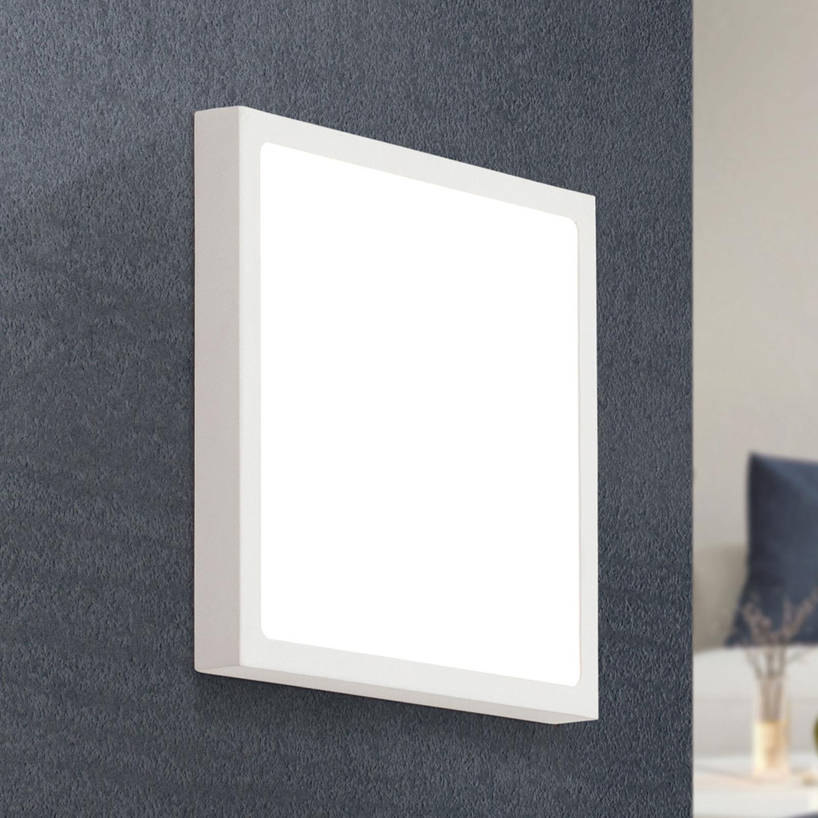 LED-seinävalaisin Vika, valkoinen, 23 x 23 cm