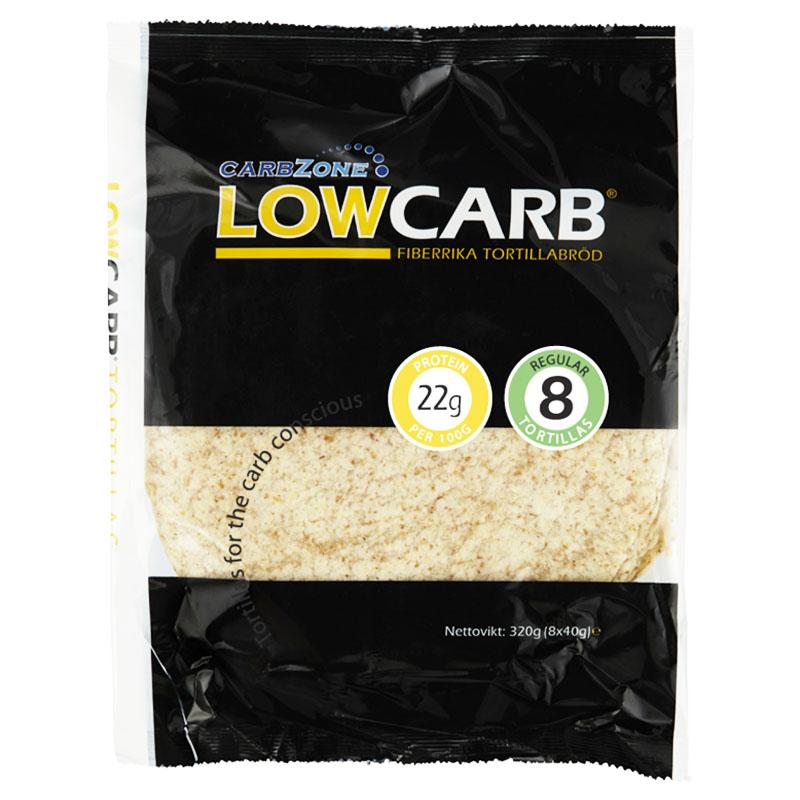 """Tortillabröd """"Low Carb"""" 8 x 40g - 54% rabatt"""