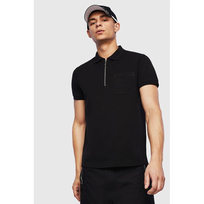 Diesel Men's Polo Shirt Black 283921 - black L