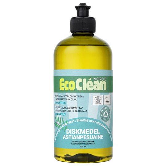 EcoClean Nordic Naturligt Diskmedel Eukalyptus, 500 ml
