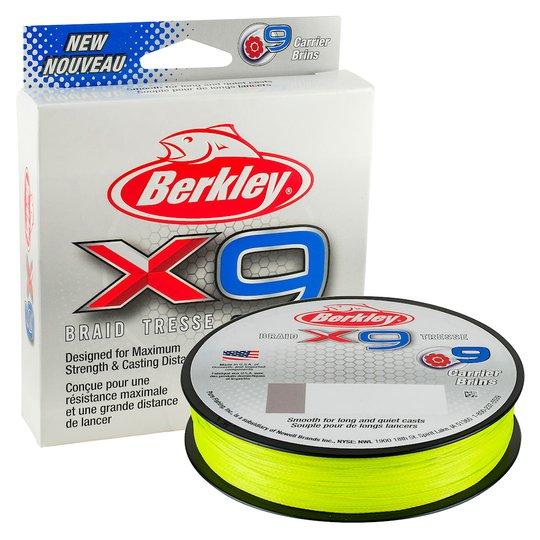 Berkley X9 Flame Green 300 m flätlina