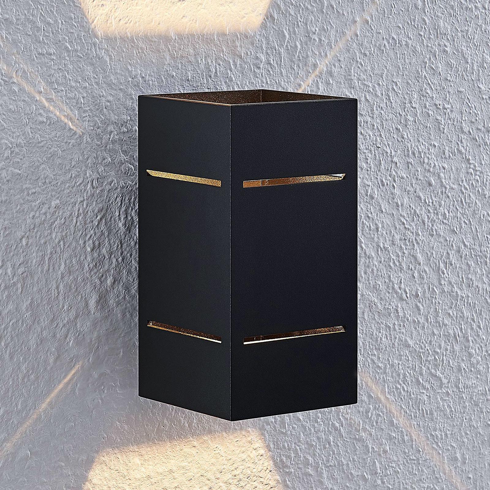 Lindby Sita seinävalaisin alumiinia, musta