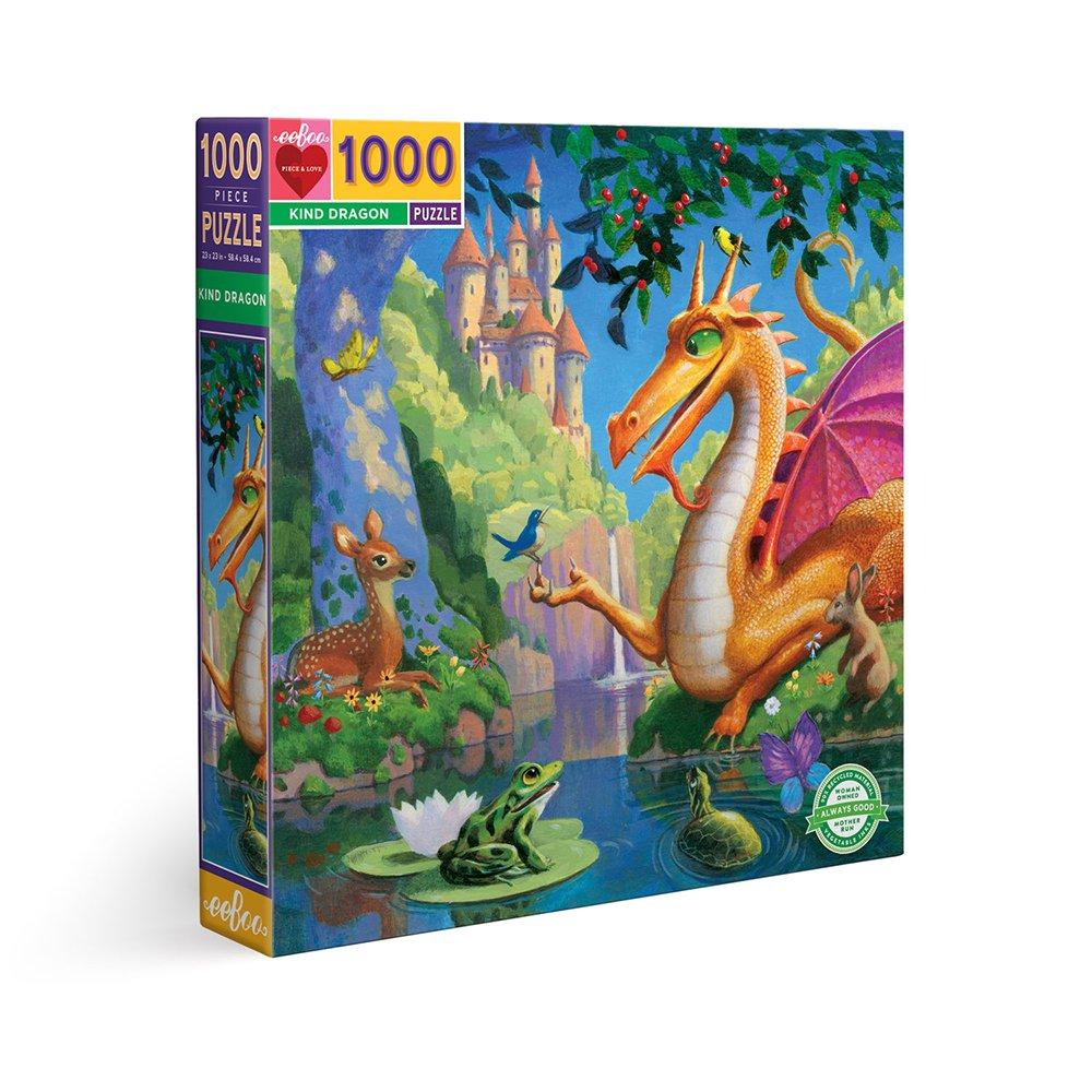 eeBoo - Puzzle 1000 pcs - Kind Dragon (EPZTKND)