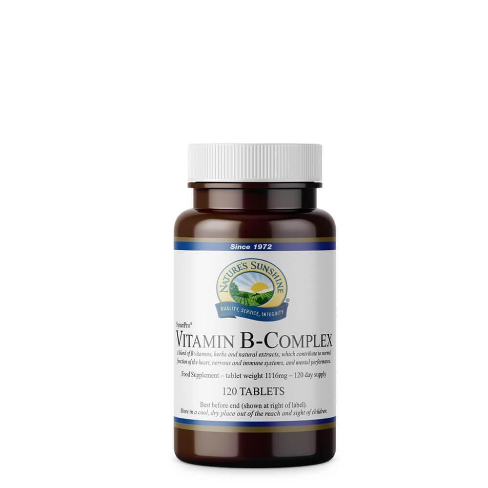 Vitamin B-Complex (120 Tablets)