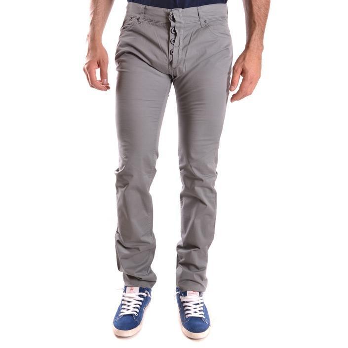 Daniele Alessandrini Men's Trouser Grey 186661 - grey 34