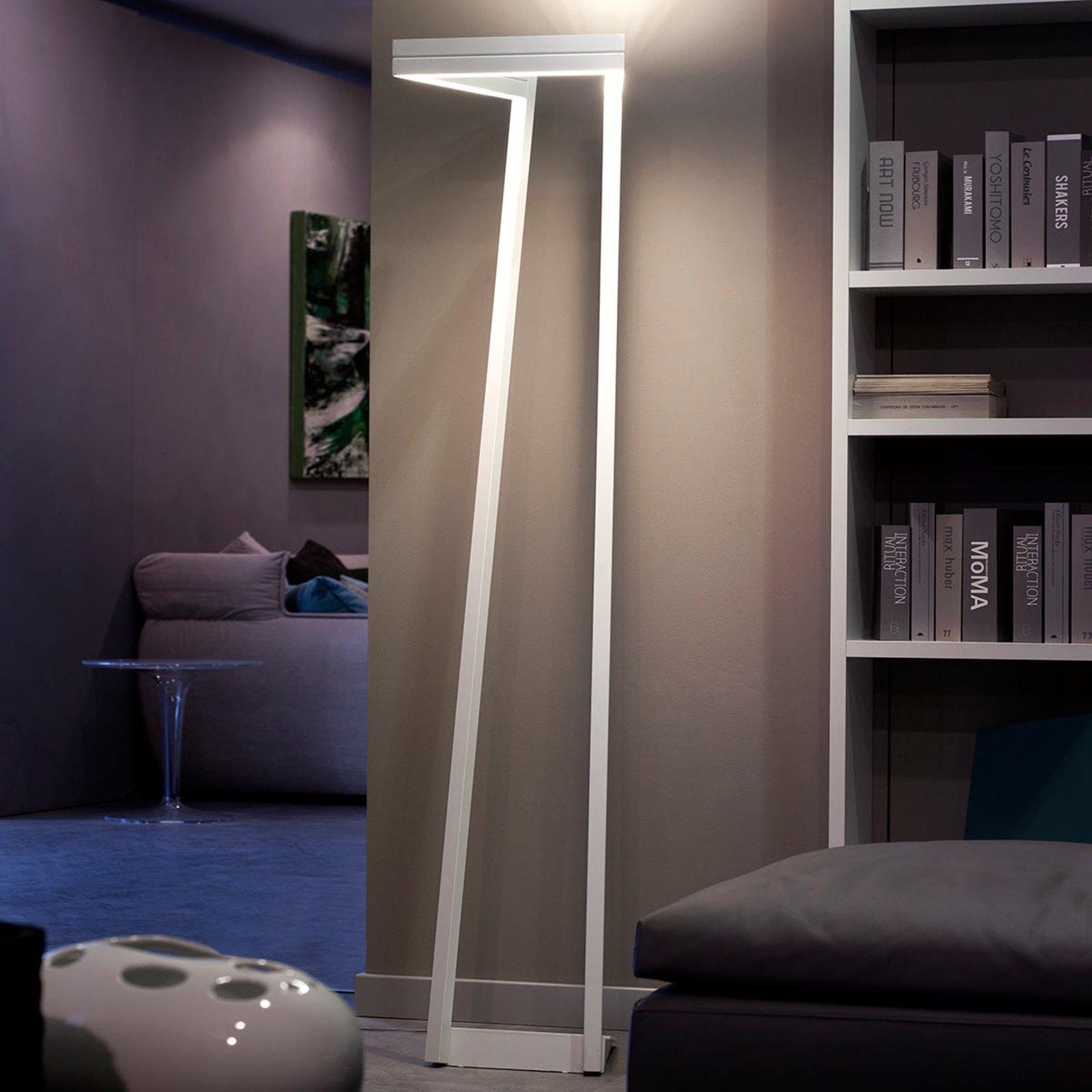 Dimbar LED-gulvlampe My Way