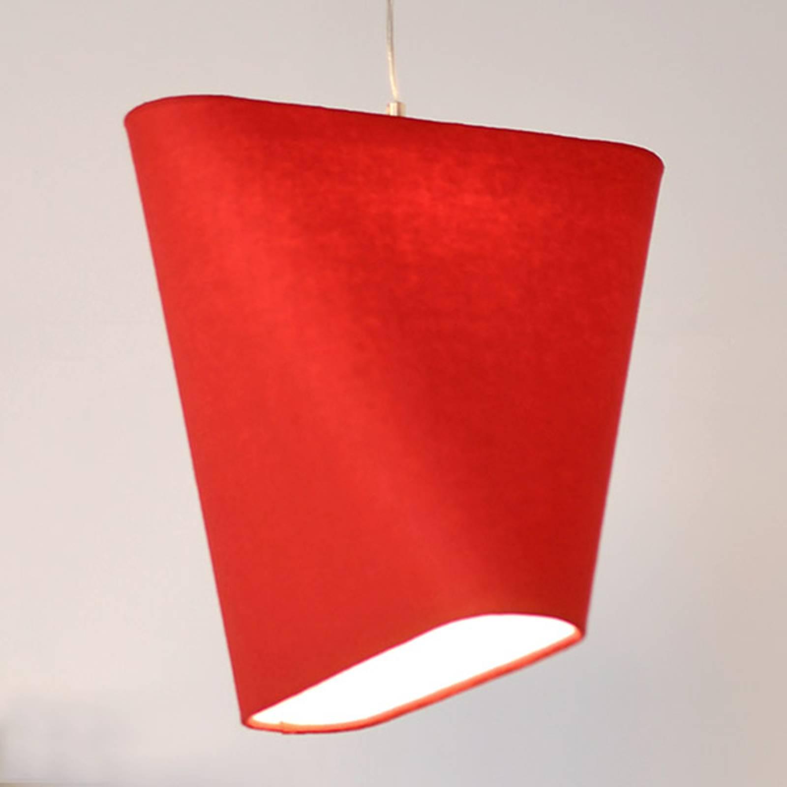 Innermost MnM 40 -tekstiili-riippuvalo, punainen