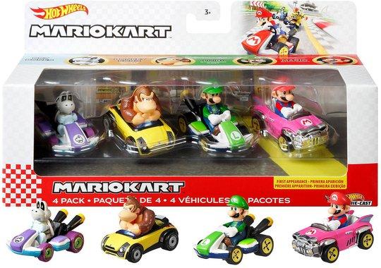 Hot Wheels Mario Kart Die-Cast 4-Pack 1