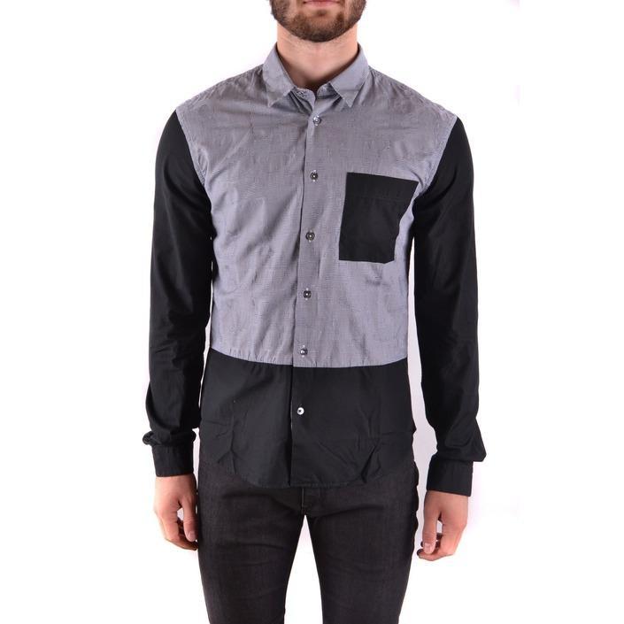 Alexander Mcqueen Men's Shirt Black 162195 - black 48