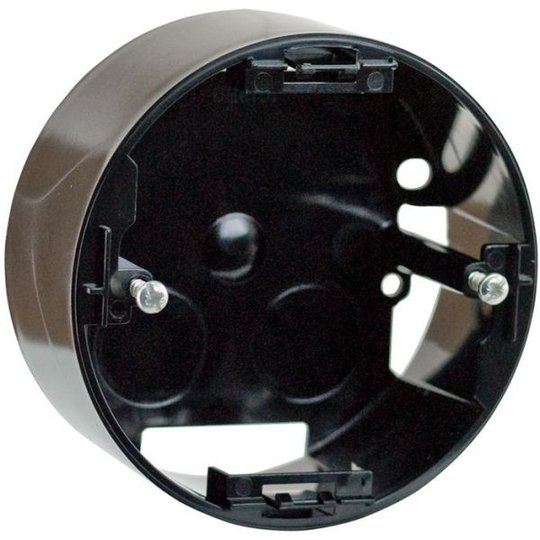 Schneider Electric Renova Rasia kytkimelle, 1 lokero, musta, korkea