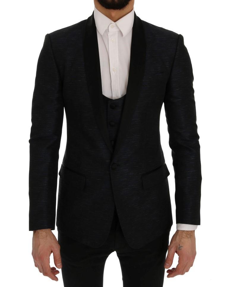 Dolce & Gabbana Men's MARTINI Slim 2 Piece Blazer Blue SIG60279 - IT48 | M