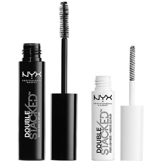 Double Stacked Mascara, NYX Professional Makeup Ripsivärit