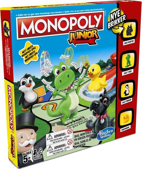 Hasbro Spill Monopol Junior