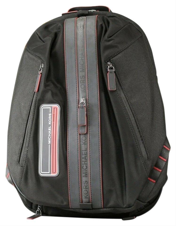 Michael Kors Women's Kent Sport Atheltic Backpack Red 19435