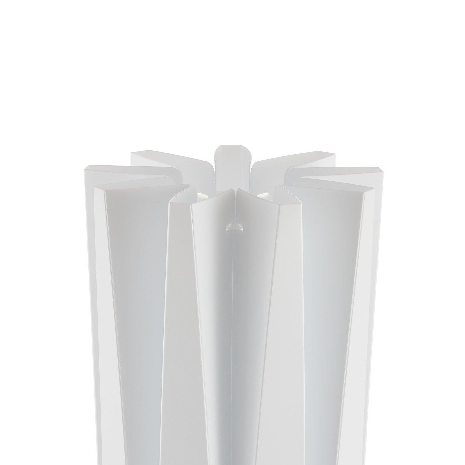 Slamp Bach, gulvlampe, høyde 161 cm, hvit